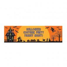 Halloween Personalised Giant Banner