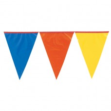 Outdoor Multi Colour Pennant Banner