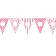 Pink Personalised Pennant Banner