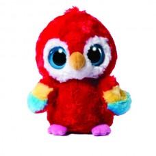 Lora Scarlet Macaw 8In