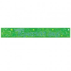 St. Patrick's Day Foil Banner