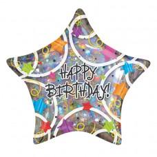 18IC:HAPPY BIRTHDAY STARS