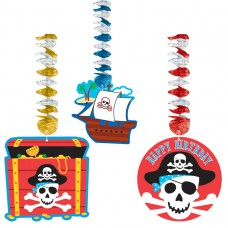 Pirate Party Dangling Cutouts