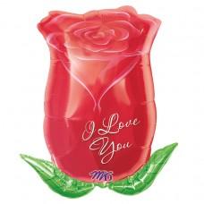 S/SHAPE:I LOVE YOU ROSE BUD