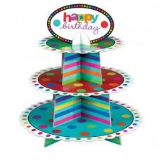 CUPCAKE STAND BIRTHDAY