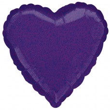 18H:PURPLE DAZZLER HEART