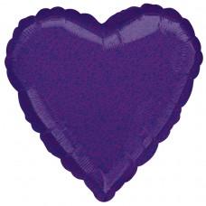18H:PURPLE DAZZLER HEART