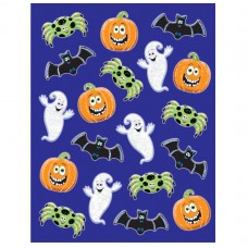 STICKERS 6sht clr:HWEEN CUTE