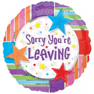 SORRY YOUR LEAVING (0)
