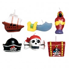 Pirates Treasure Mini Moulded Candles