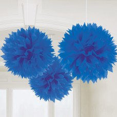 FLUFFY DEC BRIGHT ROYAL BLUE