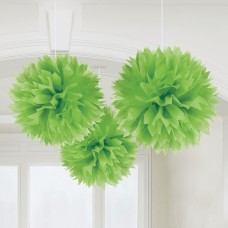 FLUFFY DECO GREEN