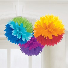 FLUFFY DECO RAINBOW
