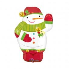 18 SHAPE:JOLLY SNOWMAN