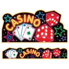 Casino Party Cutouts & Banners pack