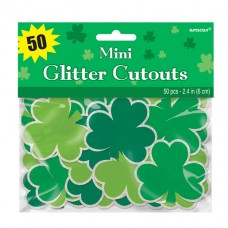 Shamrocks Mini Cutouts Value Pack