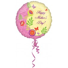 Foil Balloon 'Happy Mothers Day'