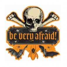 Be Very Afraid Cutout