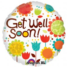 18IC:CHEERY FLOWERS GET WELL