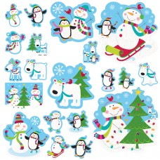 Joyful Snowman mega value pack cutouts