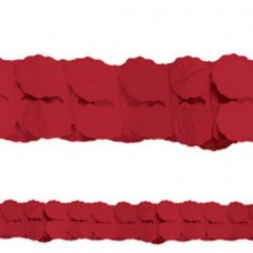 PAPER GARLAND RED