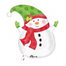 18 SHAPE: WINTER SNOWMAN