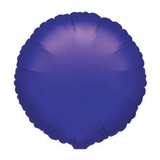 Metallic Purple Round Foil Balloon