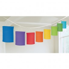 LANTERN GARLAND PRIMARY MULTI