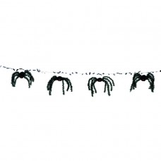 Creepy Spider Foil Garland