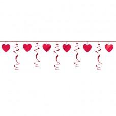 Heart Swirl Garland