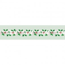 Holiday Tinsel Holly Berry Foil Garland