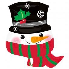 S/SHAPE PKGD:Snowman w Scarf