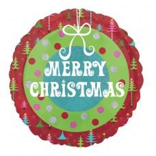 18IC:Merry Christmas Wreath