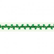 Shamrocks Tinsel Wire Garland