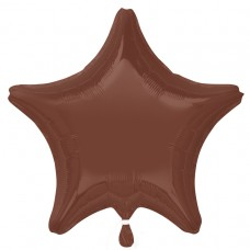 19S:CHOC BROWN DECORATOR STAR