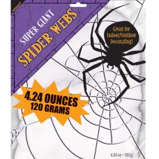 White Spider Web 120g