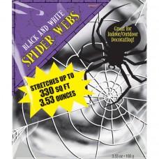SPIDER WEB BLK/WHT 3.53 OZ