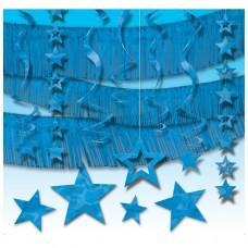GIANT ROOM DECORATING KIT-BLUE