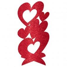CP GLITTER 3D HEARTS