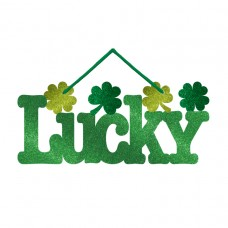 Small Glitter Lucky Sign