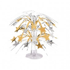 Mini Cascade Centrepiece Gold and silver