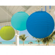 Hawaiian Themed Party Paper Lanterns