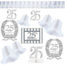 25th Anniversary Decorating Kit