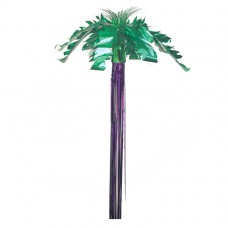 Hawaiian Themed Party Hanging Foil Palm Tree Decoration