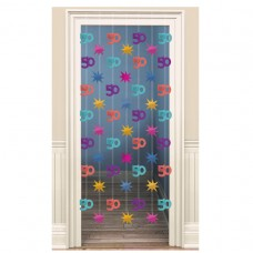 DOOR DANGLERS:PARTY CONT 50