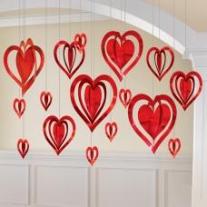 DEC KIT 3D FOIL HEART