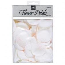 ROSE FLOWER PETAL - WHITE