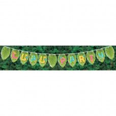 Luau Party Giant Pennant Banner