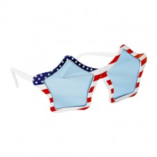 GLASSES PATRIOTIC STARS (UV)