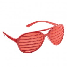 SHUTTER SHADES RED
